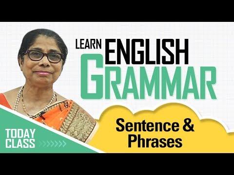 Learn English Grammar | Sentence & Phrases | Basic English Grammar for kids
