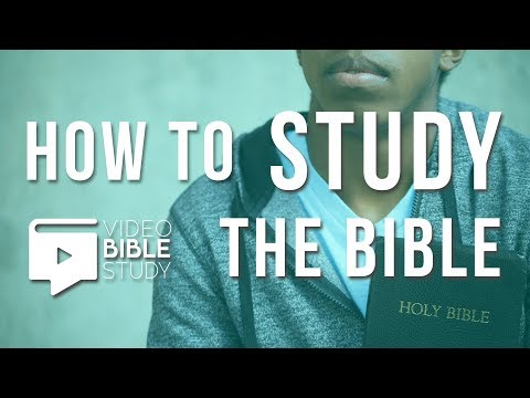 How to Study The Bible | Hearing Gods Word Through Scripture