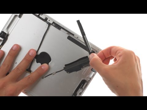 Loud Speaker Repair - iPad 2 GSM How to Tutorial