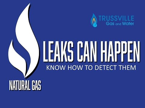 Natural Gas Safety - How to detect a leak
