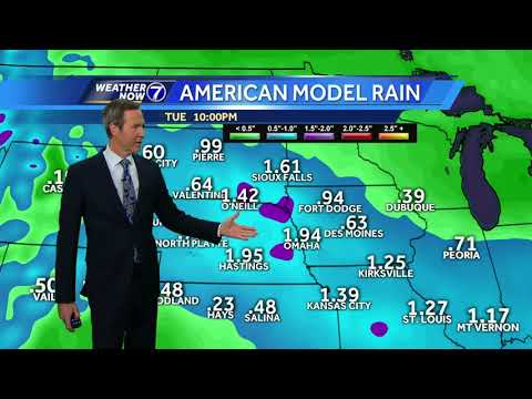 Wet weather on the way