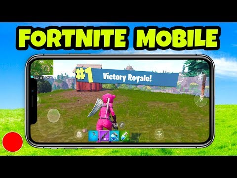 Fortnite MOBILE Gameplay - Funny Moments (Fortnite Mobile Gameplay)