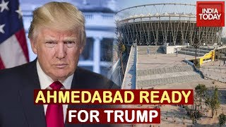 Ahmedabad Gets A Facelift Ahead Of Donald Trump's Visit | India Today Special Report