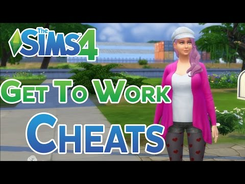 The Sims 4: Get To Work Skills and Career Cheats