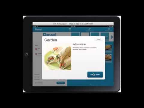 Revel iPad POS for Kiosk Use