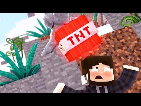 CAMO TNT TROLLING IN MINECRAFT !?