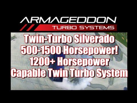 Twin-Turbo Silverado: 500-1500 Horsepower!