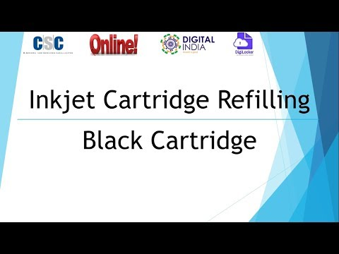 All Brand Inkjet cartridge refilling it works with any hp, cannon, epson, lexmark, brother printer
