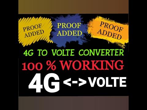 4G TO VOLTE CONVERTER || 100% WORKING TRICK - PlayTunez
