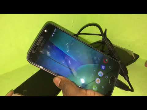 Moto G5s plus test on pendrive ,dvd writer and reverse charging