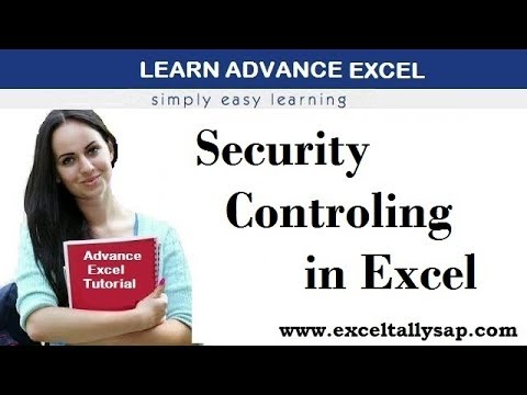 Security Controlling in Excel in Hindi (By Himanshu Aggarwal)