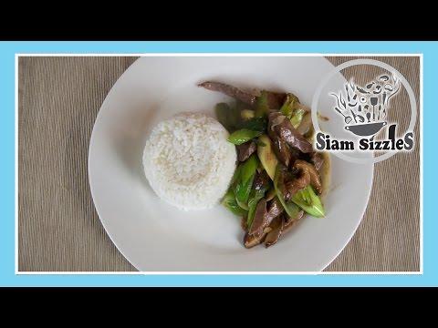 Liver And Leeks Stir Fry Recipe