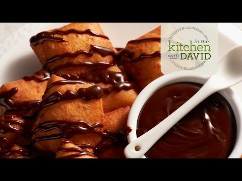 How to Make Beignets With Chocolate Bourbon Sauce