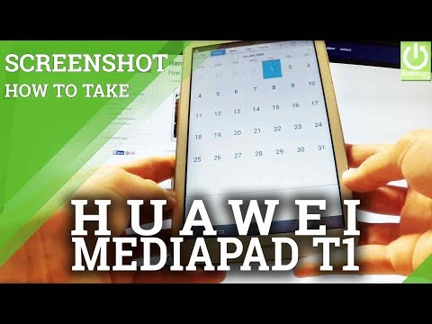 Capture Screen on HUAWEI MediaPad T1 - Screenshot on MediaPad