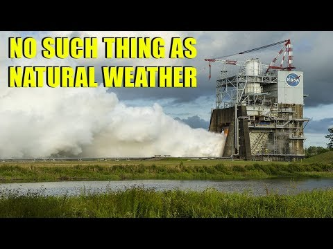 Proof of Weather Modification   NASA, HAARP & Chemtrail Technology ▶️️