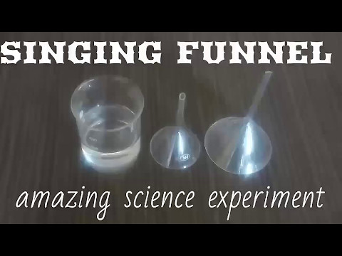 singing funnel easy science model on sound