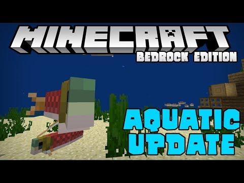 [1.3] THE AQUATIC UPDATE IS HERE!! - Minecraft Bedrock Edition Beta (PE W10)