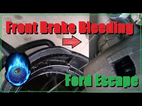 How to Bleed Brakes: Ford Escape