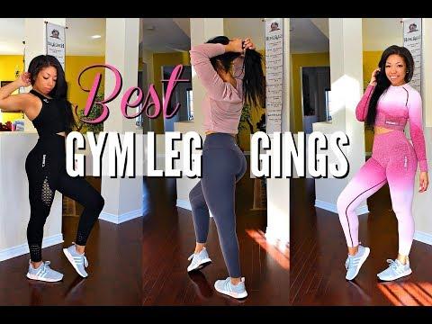 The MOST FLATTERING WORKOUT LEGGINGS EVER + TRY ON | Lululemon, Gymshark, Adidas...