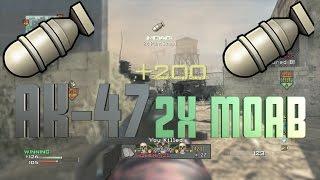 Mw3- Ak-47 Double Moab On Dome