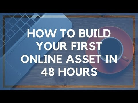 Start a Blog: How to Create Your First Online Asset