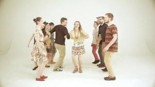 POLKA Z FIGURAMI w układzie tańczonym na Kurpiach Zielonych