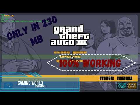 How to download GTA 3 for pc by hyper gaming skt world