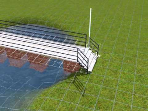The Sims 3 - Building A Bridge over a pond