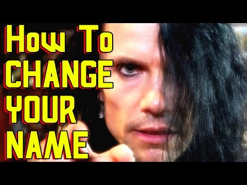 How To CHANGE YOUR NAME Fast, Legally, Cheaply & Permanently. Statutory Declaration FULL explanation