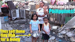 Travel to Manila Philippines and Meet this Poor Family. The Zombies in the World