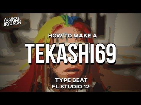 [FL Studio 12 Tutorial] How to make a 6IX9INE type beat (Tekashi69)