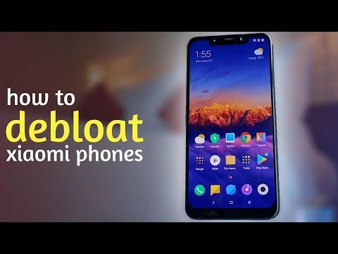 Pocophone F1 - How To De-bloat Xiaomi Phones Easily