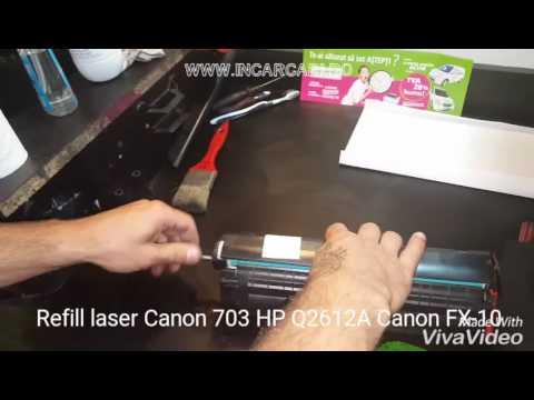 REFILL LASER CANON 703 FX-10 HP Q2612A