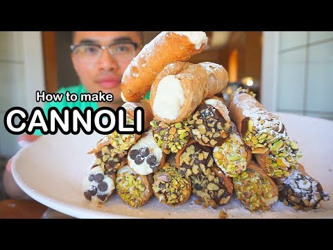 How to make CANNOLI'S