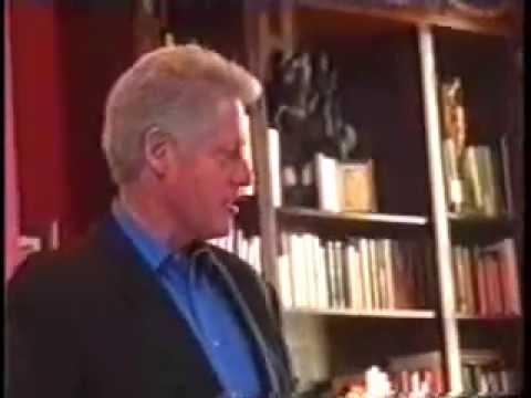 President Bill Clinton's White House Tour