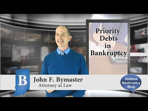 What are Priority Debts and Bankruptcy and are they Discharable?