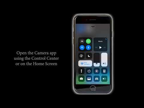 Switching Off Camera Shutter Sound on iPhone 8