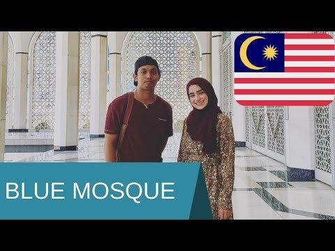 Blue Mosque of Malaysia   Shah Alam Masjid