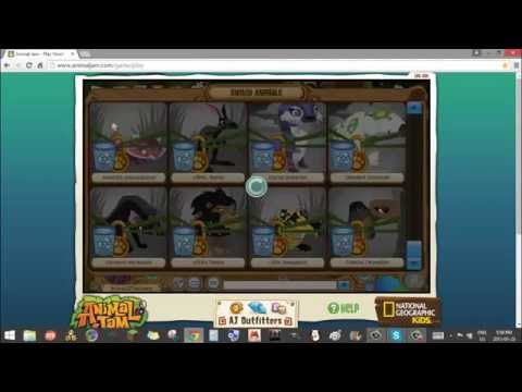 How To Be A NON-MEMBER Arctic Wolf on Animal Jam 2015-2016