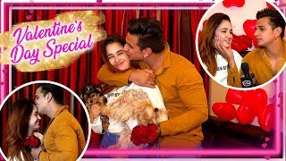 Prince Narula And Yuvika Choudhary Love Story - Exclusive   Valentine Day Special   TellyMasala