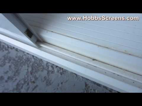How to Measue & Install for Insect Sliding Door Screen