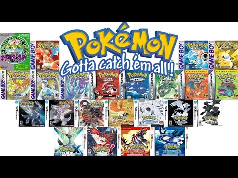 Top 10 Pokémon Games