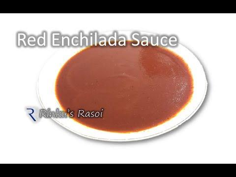 Best Homemade Red Enchilada Sauce | Easy to make | RinkusRasoi