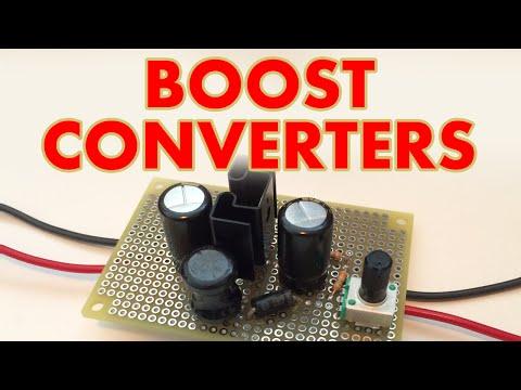 DC-DC Boost converter tutorial