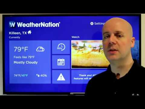Top 5 FREE Roku Weather Channels
