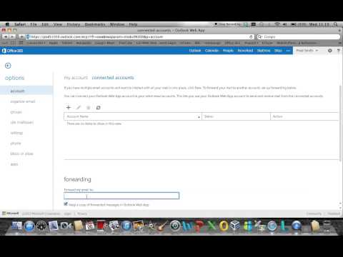 Microsoft Office 365 email forwarding configuration (Wave 15)