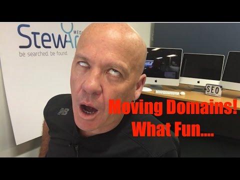 SEO change of domain