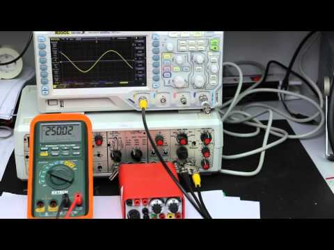 Output-Impedance: 2 simple methods for measuring and calculating