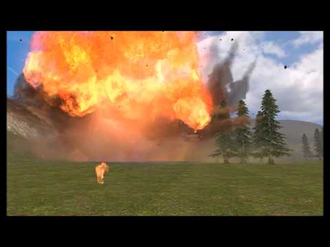 Calling in Artillery Strikes On Horde of Zombies Goes Totally Wrong Garry's Mod