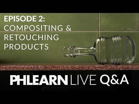 LIVE Q&A | Compositing and Retouching Products